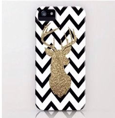 Glitter Deer Silhouette with Chevron iPhone & iPod Case by daniellebourland on Wanelo Iphone 5c, Zoom Iphone, Coque Iphone 6, Iphone 5 Cases, Iphone 6 Plus Case, Iphone Skins, Camo Phone Cases, Girly Phone Cases, Cheap Phone Cases