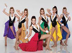 Girls Dance Costumes, Dance Costumes Lyrical, Jazz Costumes, Dance Outfits, Sporty Summer Outfits, Sport Outfits, Casual Outfits, Sports Day Outfit, Ballet Kids