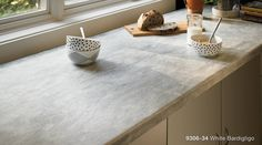 The 2017 @formicagroup Residential Collection features seven trend-forward Formica Laminate designs inspired by blending popular neutral tones patterned stones and natural vs. man-made materials. White Bardiglio is a timeless Italian-inspired neutral gray stone with white highlights for dimension. #2017FormicaResidentialCollection #laminate #whitebardiglio