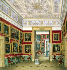 Museu Hermitage em Aquarelas ...