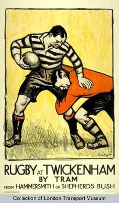 Rugby at Twickenham by Tram from Hammersmith or Shepherds Bush.