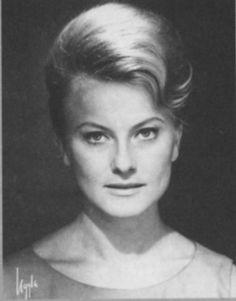 Monica Zetterlund (1937 - 2005) Swedish actress, jazz singer.