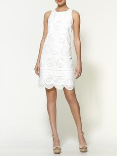 Piperlime | Palmetto Eyelet Dress