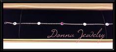 #diamond and #coloredstone #bracelet #jewelry #donnajewelry