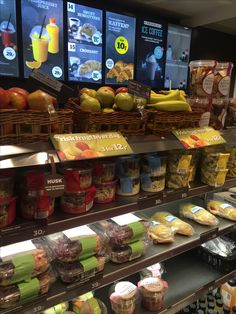 Frisk, Croissant, Juice, Convenience Store, Chips, Concept, Display, Kitchen, Convinience Store