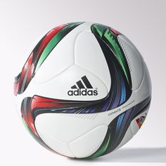 Built with a thermally bonded seamless surface, this soccer ball flies with precision. Features high-end materials in the cover, backing and bladder for accuracy and durability.