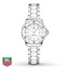 Tag Heuer Women's Watch- Formula 1 Lady Ceramic. I'm not into jewelry all that much and I've never worn watches a lot, but I've been a bit obsessed with Tag Heuer watches for awhile and I'm pretty sure I'm going to need to get one fairly soon!!!