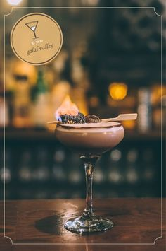 Looking for a signature cocktail - here's a drink that looks promising from Urban Brides blog