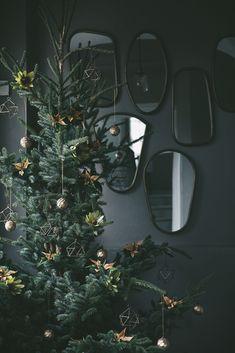 Weihnachtliche Dekoration: Weihnachtsbaum.