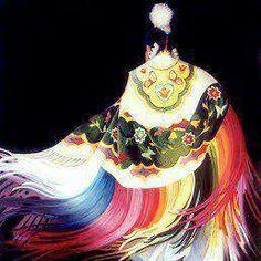 beautiful fancy shawl