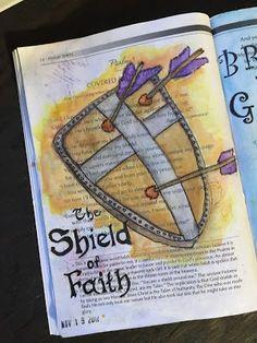 Psalm 3 Bible Journaling Through the Psalms