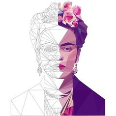 How to create low poly portraits