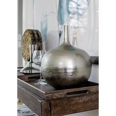 Nalia Vase in Outlet Accessories | Crate and Barrel