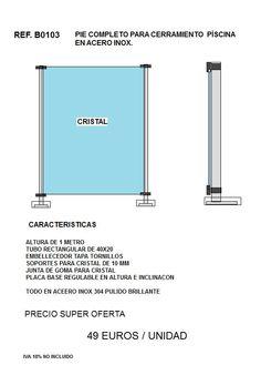 Barandillas acero inoxidable pasamanos acero inoxidable vallas de cristal roof pinterest - Vallas de acero inoxidable ...