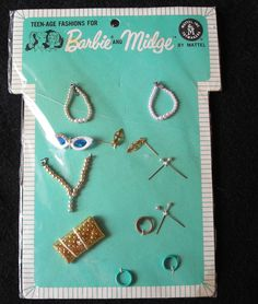 Vintage Barbie Fashion Accents Mint NRFP | eBay