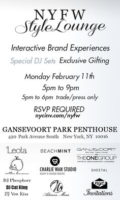 Interactive Brand Experiences * Exclusive Gifting * DJ Sets and Performances