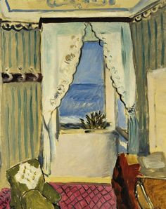 stilllifequickheart: Henri Matisse Interior in Nice 1918