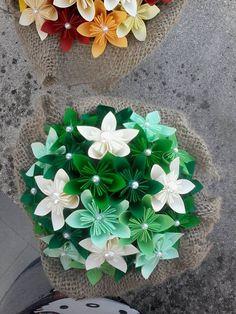 Centro tavola per matrimonio kusudama origami di BOMBOSTEFY, €12.00