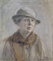 Ellen Thesleff Self-Portrait with Hat - Thesleff studied in Helsinki Adolf von Becker), in The Finnish Art Society drawing school and The Academy of Gunnar Berndtson and also in Paris Académie Colaros and She also studied woodcuts in Florence since Female Painters, Art Society, Scandinavian Art, Portrait Inspiration, Traditional Art, Female Art, Art Museum, Painting & Drawing, Oil On Canvas
