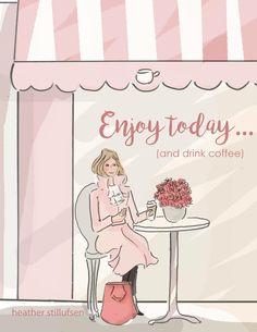 rose hill designs by heather stillufsen Rose Hill Designs, Rose Design, Girly Quotes, Art Quotes, Inspirational Quotes, Motivational, Rose Pastel, Hello Weekend, Illustrations