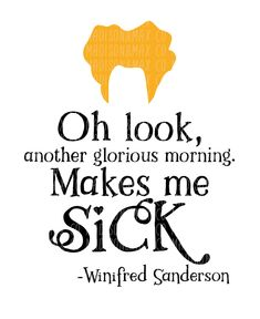 A quote from Winifred Sanderson of Hocus Pocus (Bette Middler) . Vinyl Crafts, Vinyl Projects, Holidays Halloween, Halloween Fun, Halloween Vinyl, Hocus Pocus Quotes, Free Svg, Cricut Explore Air, Silhouette Cameo Projects