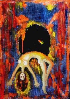 "Saatchi Art Artist Elena Buftea; Painting, ""Into the trap of matter"" #art"