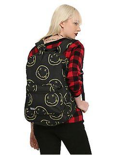 Got yer back // Nirvana Smiley Backpack