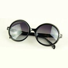 """Mystique"" Round Unisex Fashion Sunglasses"