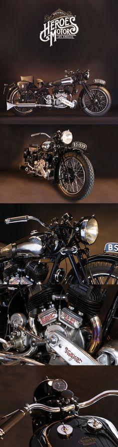 1938 BROUGH SUPERIOR 1000cc SS80