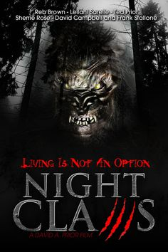 Watch Night Claws full hd online Directed by David A. With Reb Brown, Leilani Sarelle, Ted Prior, Sherrie Rose. A small town is being terrorized by a killer Bigfoot. One that is blood All Movies, Scary Movies, Movies To Watch, Movies And Tv Shows, 2012 Movie, Movie Tv, Frank Stallone, Movie Theater Popcorn, Nocturne