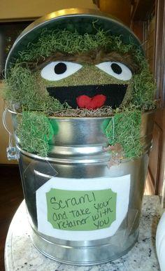 """Oscar The Grouch """"Pumpkin Contest"""""""