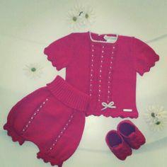 Conjunto bebé Pili Carrera, primavera-verano 2014 Tommy Hilfiger, Carrera, Vestidos, Spring Summer, Dressmaking