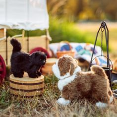 Little House on the Prairie Black Susan kitty and Jack the Brindle Bulldog, Sized for 18 Dolls! American Girl Doll Videos, American Girl Doll Pictures, Cat Crafts, Cat And Jack, Cat Design, Girl Dolls, Baby Dolls, 18 Inch Doll, Doll Accessories