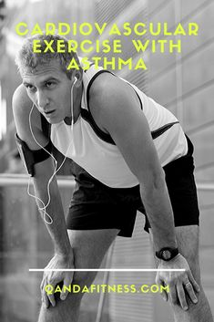 Just because you suffer from asthma doesn't mean you can't keep fit. Learn more with our guide to cardio exercise with asthma - QandA Fitness - #fitness #cardio #asthma
