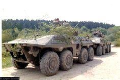 SpahPanzer Luchs, Bundeswehr