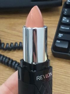 I keep seeing pins for this. Everyone calls it her favorite nude lipstick. Revlon's Soft Nude.