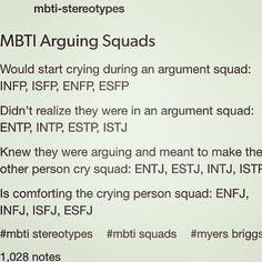 MBTI Arguing Squads ~