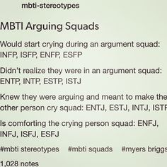 MBTI Arguing Squads ~ INFP so the case. I wish it wasn't all i might can't seem to learn to stop it. lmao