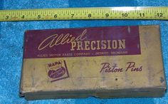 Awesome Cars accessories 2017: VINTAGE NAPA PISTON PINS WITH BOX ALLIED PRECISION RAT ROD USA   Stuff to Buy Check more at http://autoboard.pro/2017/2017/06/22/cars-accessories-2017-vintage-napa-piston-pins-with-box-allied-precision-rat-rod-usa-stuff-to-buy/