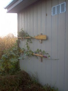 Redo Redux: Revisiting Past Projects: Boat Oar Trellising