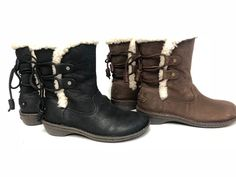 UGG Australia 1007760 Akadia Stout / Black Winter Booties Lace Up Boots Leather | Clothing, Shoes & Accessories, Women's Shoes, Boots | eBay!