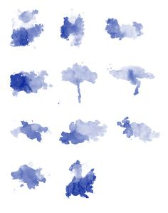 Freebie Release: 15 Photoshop Watercolor Brushes | Watercolors ...