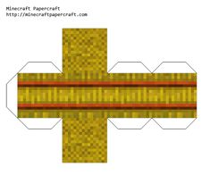 Papercraft Hay Bale Papercraft Minecraft Skin, Minecraft Mobs, Minecraft Crafts, Minecraft Houses, Minecraft Templates, Minecraft Designs, Paper Toys, Paper Crafts, Painting Minecraft