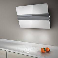 Wall-mounted Glass and Stainless Steel cooker hood BELT Emotion ...