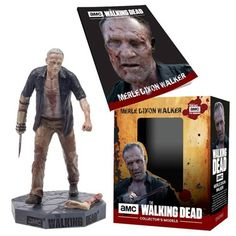 (affiliate link) The Walking Dead Walker Merle Figure with Collector Magazine #21