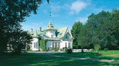 Villa Gransholm, a Mansion property, located in Småland, Sweden Sweden, Villa, Hotels, Mansions, House Styles, Travel, Home Decor, Europe, Viajes