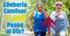 Una reciente investigación sugiere que caminar más de 10 000 pasos al día podría ser necesario para lograr los máximos beneficios de salud. ejercicios.mercol...