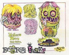 JOHNNY ACE Ed Roth Rat Fink FUNKO Original Art MOTHER'S WORRY Wobbler MONSTER!! #JohnnyAceStudiosEdBIGDADDYRoth