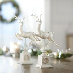Leaping Reindeer - Set of 2 $49