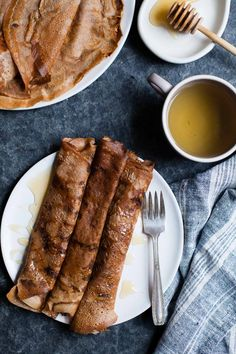 Hazelnut Chestnut Crepes with Brie & Burnt Honey + Zoella Mae's Homecoming - Snixy Kitchen - Snixy Kitchen Dinner Party Recipes, Appetizers For Party, Appetizer Dinner, Holiday Recipes, Crepes, Muffins, Cupcakes, Brunch Buffet, Pancakes And Waffles